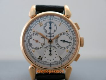 Chronoswiss Klassic Chronograph 18K Rose Gold