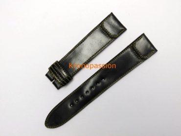 Jaeger-LeCoultre Black Cordovan Strap For Grande Reverso Ultra Thin