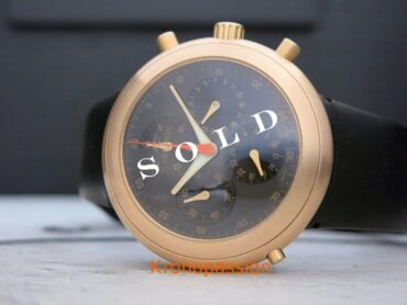 Ikepod Hemipode Chronograph 18K Rose Gold by Marc Newson