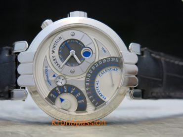 Harry Winston Premier Excenter Perpetual Calendar 41mm
