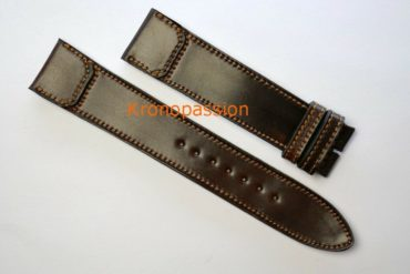 Jaeger-LeCoultre Chocolate Brown Cordovan Strap For Grande Reverso Ultra Thin